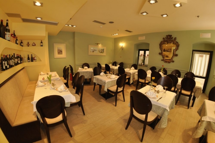 corfu restaurant interior