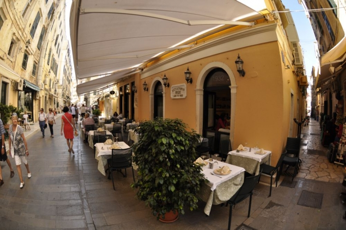 the restaurant's exterior