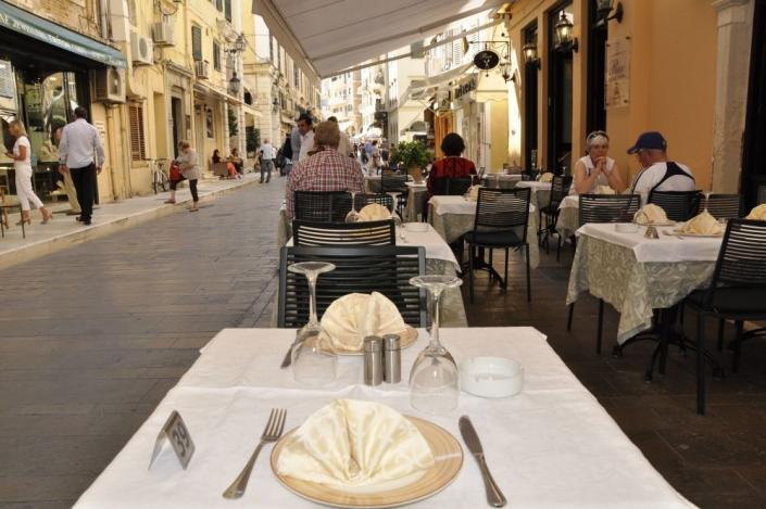 rex restaurant corfu town